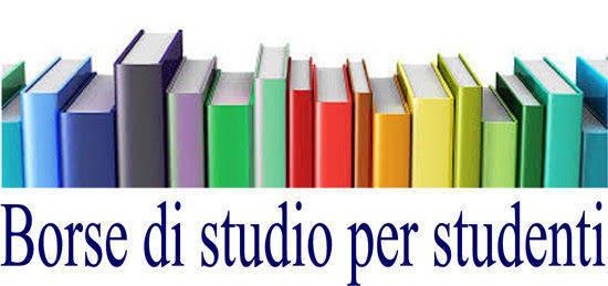BORSE DI STUDIO A FAVORE DEGLI STUDENTI DELLE SCUOLE SECONDARIE DI SECONDO GRADO A.S. 2017/2018