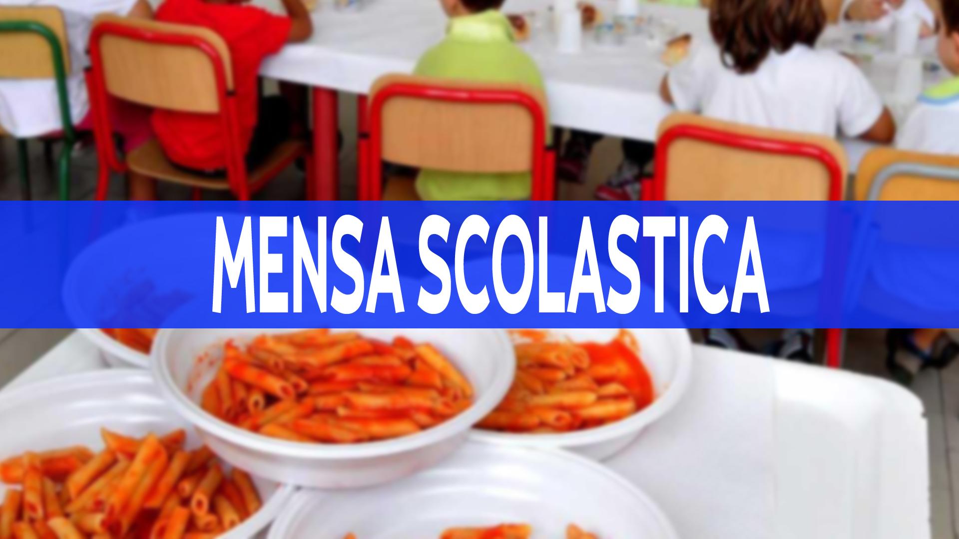 SERVIZIO DI MENSA SCOLASTICA - ISTANZA ADESIONE AL SERVIZIO