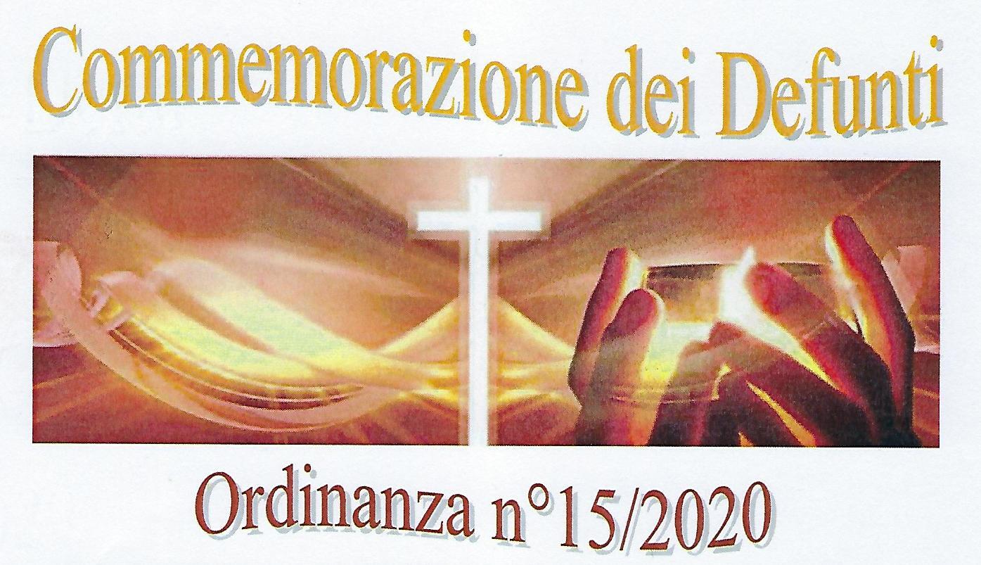 DISPOSIZIONI COVID-19 PER IL FLUSSO DEI VISITATORI PRESSO IL CIMITERO COMUNALE