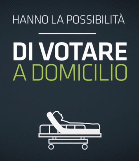 ELEZIONI COMUNALI DEL 25-26 OTTOBRE 2020-VOTO A DOMICILIO