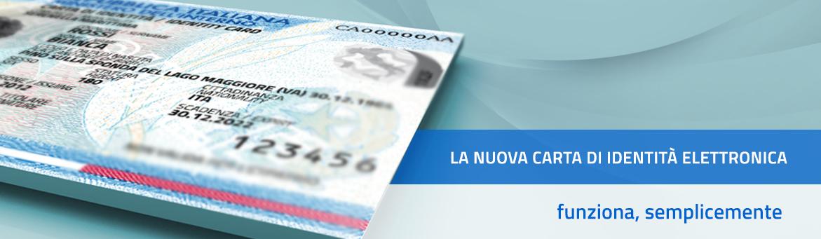 Carta di identità elettronica - SCHEDA INFORMATIVA