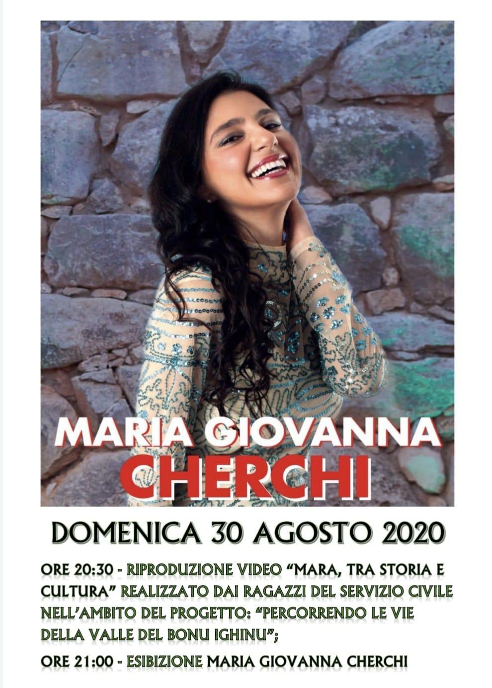 SERATA MUSICALE CON MARIA GIOVANNA CHERCHI