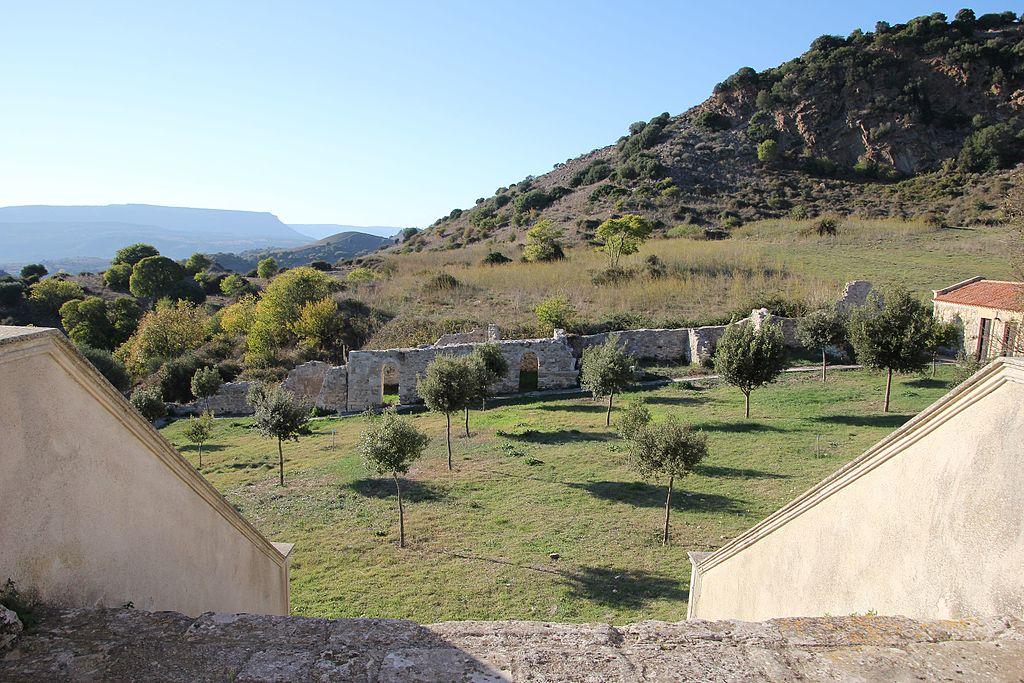 Vista dalla Chiesa di Bonu Ighinu